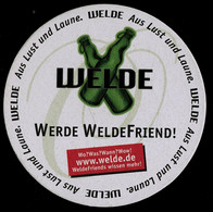 Bierdeckel  -  Welde WeldeFriend  -  Welde Gold - Portavasos