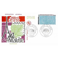 FDC JF - Arphila 75, Grand Palais (1836) - Paris 6/6/1975 - 1970-1979
