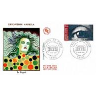 FDC JF - Arphila 75, Grand Palais (1834) - Paris 6/6/1975 - 1970-1979