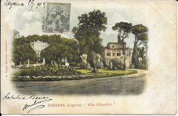 "SARZANA "" Villa Ollandini ""    N°3457 - Andere Städte"