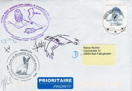 08166) Grönland - Mi 497 Auf Brief Codiert - 3985 Nerlerit Inaat Vom 9.7.2008 - Int. Expedition - Brieven En Documenten