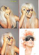 Série De 16 CPM Japonaises De Lady Gaga, Artiste Chanteuse, Compositrice, Interprète - 5 - 99 Postkaarten