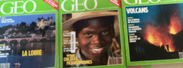 5  N° De Géo (1990/91) : N°135/138/141/143 & 147. - Geography