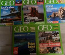 5 N° De Géo (1995) : N°192/194/197/200 & 202. - Geography