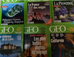 9 N° De Géo (1996/2000) : N°203/204/209/211/212/217/221/22/ & 255. - Geography