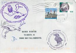 08169) Grönland - Mi 493 + 510 Auf Brief Codiert - Vom 26.7.2010 - Int. Expedition - Brieven En Documenten