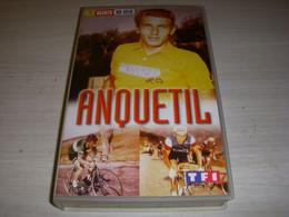 CYCLISME CASSETTE VHS Les GEANTS Du VELO Jacques ANQUETIL 75mn - Sports