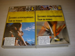 CYCLISME CASSETTE VHS La FABULEUSE HISTOIRE Du TOUR De FRANCE 3h 2 Cassettes - Sports