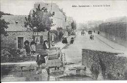 Lesneven  L Avenue De La Gare - Lesneven