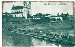 Vilnius Vilna Vilnia Die Pontonbrücke - Lithuania
