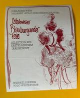 16590 - Ostschweizer Blauburgunder 1989 100 Jahre Volg  Femme Cycliste - Other