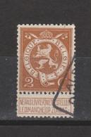 COB 109 Oblitéré M De Dimanche Brisé - Sonstige