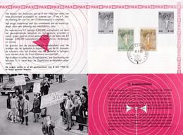Feuillet Poste FDC 1251 à 1252 Monument Du 8 Mai Pour La Paix - 1961-70
