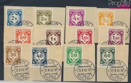 Böhmen Und Mähren D1-D12 (kompl.Ausg.) Gestempelt 1941 Dienstmarken (9474792 - Gebraucht