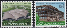 L-Luxembourg 1987. Europa: Moderne Architektur (B.2697) - Unused Stamps