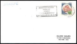 ITALIA CASTROVILLARI (CS) 1986 - MANIFESTAZIONE PROVINCIALE GIOCHI DELLA GIOVENTU' - TARGHETTA - CARD - Other