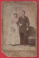 253203 / Real Original Photo - Wedding, Marriage CVD Photographer M. Kamerman Roustchouk Rousse Bulgaria Bulgarie - Dédicacées