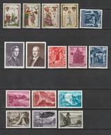 Liechtenstein / Lot Mit Versch. Ausgaben **/postfrisch (C145) - Mezclas (max 999 Sellos)
