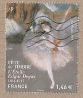 FRANCE 2017 F5131 Fête Du Timbre L'Étoile D'Edgar Degas - 1834-1917 OBLITERE ** - Usati