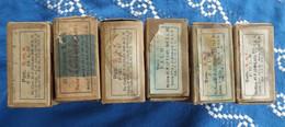 """Lot De 6 Boites """"vides"""" De Munition Pour 98K - Allemand - - 1939-45"""