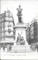 Cpa 75 Paris , Statue Etienne Dolet , Vierge , Tébehem Paris Phonocartes , Carte Enregistrable La Sonorine - Statuen