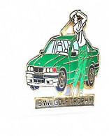 PIN'S BMW GOLF TROPHY  ( Verte)SIGNE ARTHUS BERTRAND - BMW