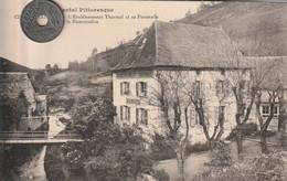 15 -Très Belle Carte Postale Ancienne De CHAUDESAIGUES   Etablissement Thermal Sur Le   Remontalou - Other Municipalities