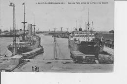SAINT-NAZAIRE : Vue Du Port - Saint Nazaire