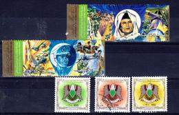 Libyen 5 Diverse, Gestempelte Briefmarken; Gem. Scan; Los 52641 - Libyen