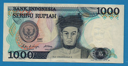 INDONESIA 1000 Rupiah 1987 # OCP254721 P# 124 Raja Sisingamangaraja XII - Indonesia