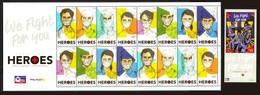 Philippines 2020 Coronavirus Covid -19 Souvenir Sheet  And Sheetlet - Ziekte