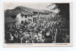 PENANG (MALAYSIA / MALAISIE) - N° 36 A CHINESE CHINGAY PROCESSION (CHINA / CHINE) - BRITISH EMPIRE SERIES - Malaysia