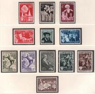 BELGIE 1955 * Nr 961/72 * Postfris Xx * OBP/COB  € 15,00 - Unused Stamps