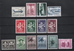 BELGIE 1957 * Nrs Tussen 1008 En 1026 * Postfris Xx * OBP/COB  € 9,35 - Unused Stamps