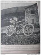 1906 MOTOCYCLETTE GRIFFON  GUIPPONE AU VIRAGE DE SAINT ESTEVE DANS LA COTE DU MONT VENTOUX - Sin Clasificación