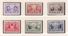 BELGIE 1957 * Nrs 1013/18 * Postfris Xx * OBP/COB  € 10,00 - Unused Stamps