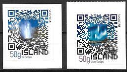 Islande 2012, N°1288/1289 Neufs Europa Tourisme - Neufs