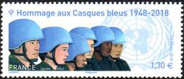 France N° 5220 ** Hommage Aux Casques Bleus - Francia