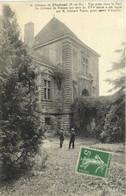 Chateau De PIONSAT  Vue Prise Dans Le Parc  Recto Verso - Otros Municipios