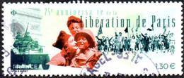 France Oblitération Cachet à Date N° 5341 - Libération De Paris (Anniversaire Le 75 éme) - 2010-.. Matasellados