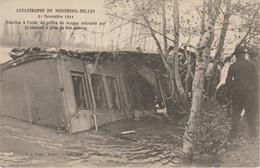 CPA  49  MONTREUIL BELLAY CATASTROPHE  21 NOVEMBRE 1911 - Montreuil Bellay