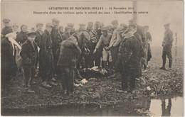 CPA  49  MONTREUIL BELLAY CATASTROPHE  21 NOVEMBRE 1911  -- 2 - Montreuil Bellay