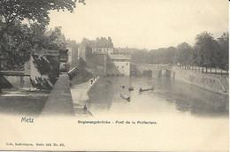 CPA 57 METZ Pont De La Préfecture Série 104 N°82 - Metz
