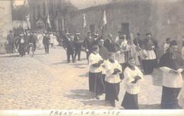 60 - PRECY SUR OISE / CARTE PHOTO - FETE DU BOUQUET PROVINCIAL - Précy-sur-Oise