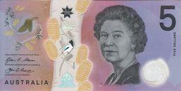 ♛ AUSTRALIA - 5 Dollars 2016 {Polymer} UNC P.62 - 2005-... (polymer Notes)