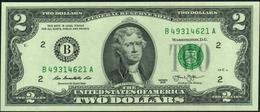 ♛ U.S.A. UNITED STATES Of AMERICA 2 Dollars 2013 UNC P.538 - Bilglietti Della Riserva Federale (1928-...)
