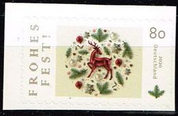 Bund 2020,Michel# 3575 ** Weihnachtsmarke, Selbstklebend - Rollenmarken