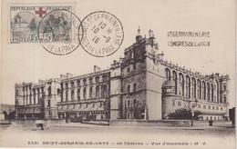 "FRANCE : N° 156 . CP . "" CONGRES DE ST GERMAIN EN LAYE "" . 1919 . - 1877-1920: Semi-moderne Periode"