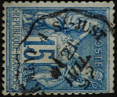 -Sage N°90 Type Ll.  O. (CAD)  AMBULANT. - 1876-1898 Sage (Type II)