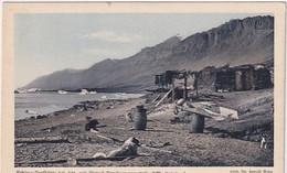 Grönland - Eskimo-Torfhütte Bei Ata - Fleischtrocknungsgestelle - Phot.Dr.Heim         (A-278-200713) - Greenland